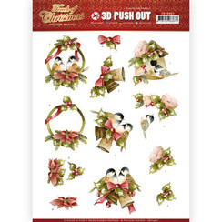 SB10460 - Uitdrukvel - Precious Marieke - Touch of Christmas - Birds