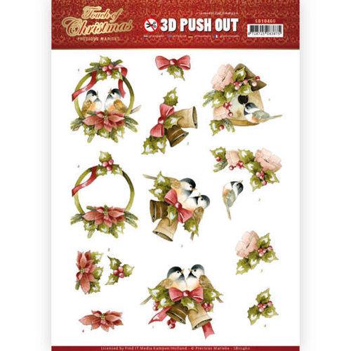Precious Marieke SB10460 - Uitdrukvel - Precious Marieke - Touch of Christmas - Birds