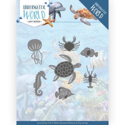 Amy Design ADD10212 - Mal - Amy Design - Underwater World - Ocean Animals