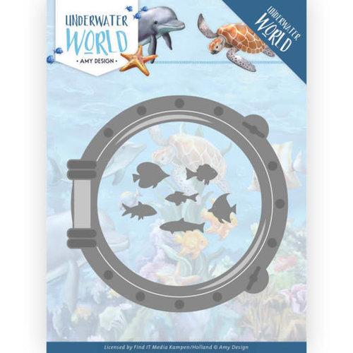 Amy Design ADD10210 - Mal - Amy Design - Underwater World - Porthole