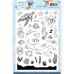 ADCS10068 - Stempel - Amy Design - Underwater World