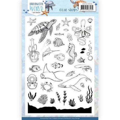 Amy Design ADCS10068 - Stempel - Amy Design - Underwater World