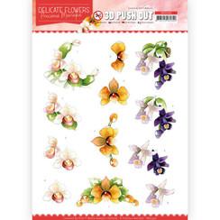 SB10450 - Uitdrukvel - Precious Marieke - Delicate Flowers - Orchid