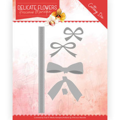 PM10180 - Mal - Precious Marieke Delicate Flowers - Delicate Bow