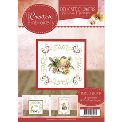 CB10014 - Creative Embroidery 14 - Precious Marieke Delicate Flowers