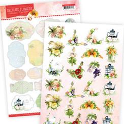 PMMIN10006 - Mini's - Precious Marieke Delicate Flowers