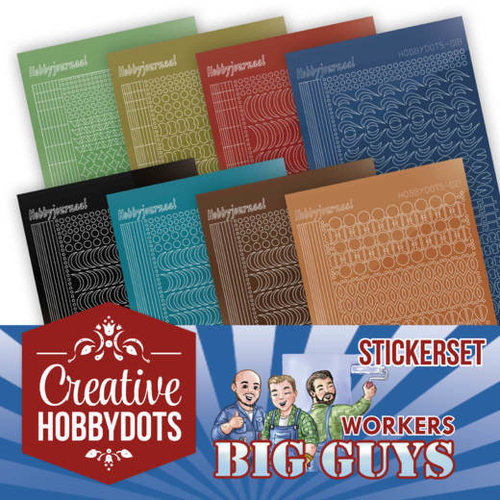 Yvonne Creations CHSTS002 - Creative Hobbydots 2 - Sticker Set