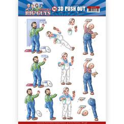 SB10448 - Uitdrukvel - Yvonne Creations - Big Guys - Workers - Handyman