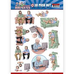 SB10447 - Uitdrukvel - Yvonne Creations - Big Guys - Workers - Gaming