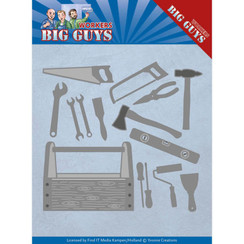 YCD10203 - Mal - Yvonne Creations - Workers - Handyman Tools