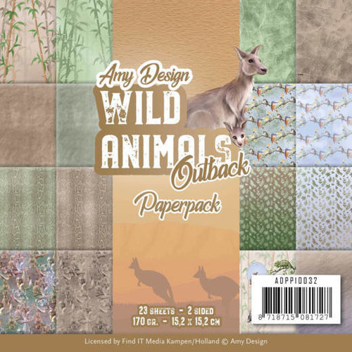 Amy Design ADPP10032 - Papierpak - Amy Design - Wild Animals Outback