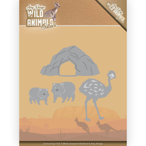 Amy Design ADD10207 - Mal - Amy Design - Wild Animals Outback - Emu and Wombat