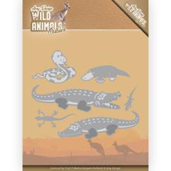ADD10206 - Mal - Amy Design - Wild Animals Outback - Crocodile