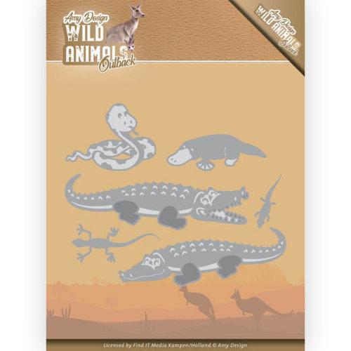 Amy Design ADD10206 - Mal - Amy Design - Wild Animals Outback - Crocodile