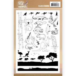ADCS10067 - Stempel - Amy Design - Wild Animals Outback