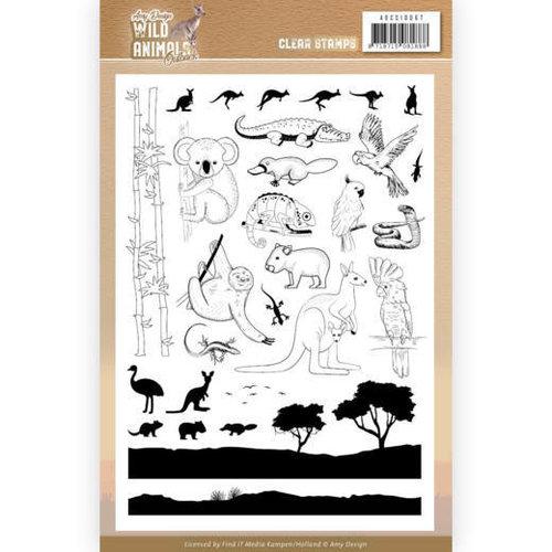 Amy Design ADCS10067 - Stempel - Amy Design - Wild Animals Outback