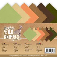 AD-4K-10023 - Linnen karton Pack - 4K - Amy Design - Wild Animals Outback