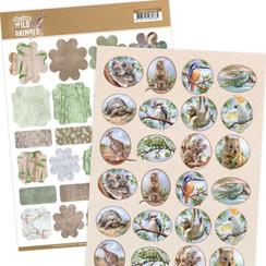 ADMIN10006 - Mini's - Amy Design - Wild Animals Outback