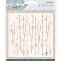 CDEST007 - Card Deco Essentials - Stencil Bamboo Grass