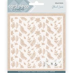 CDEST009 - Card Deco Essentials - Stencil Leaves