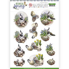 SB10436 - 3D Uitdrukvel - Amy Design - Botanical Spring - Lapwing