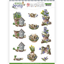 SB10435 - 3D Uitdrukvel - Amy Design - Botanical Spring - Spring Arrangement