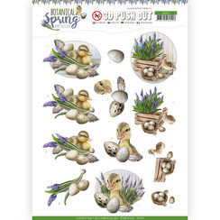SB10434 - 3D Uitdrukvel - Amy Design - Botanical Spring - Happy Ducks