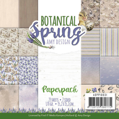 Amy Design ADPP10031 - Papierpak - Amy Design - Botanical Spring