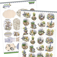 ADMIN10005 - Mini's - Amy Design - Botanical Spring