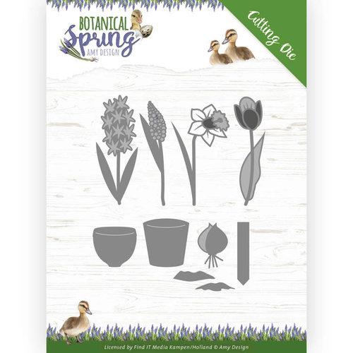 Amy Design ADD10199 - Mal - Amy Design - Botanical Spring - Bulbs and flowers