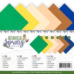 AD-4K-10022 - Linnen karton Pack - 4K - Amy Design - Botanical Spring