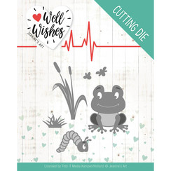 JAD10094 - Mal - Jeanines Art- Well Wishes - Smiling Frog