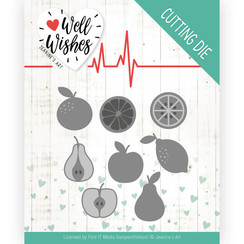 JAD10093 - Mal - Jeanines Art- Well Wishes - Fruits