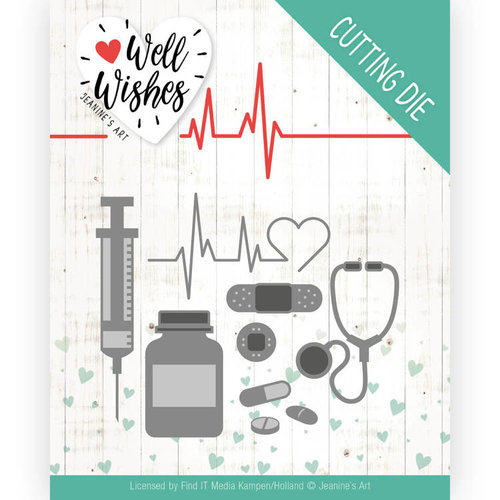 Jeanines Art JAD10092 - Mal - Jeanines Art- Well Wishes - Getting Well