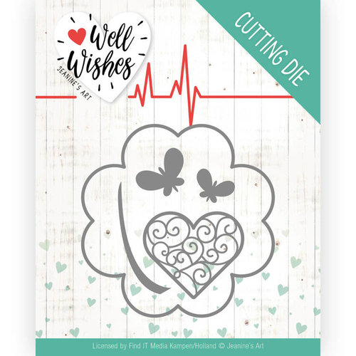 Jeanines Art JAD10091 - Mal - Jeanines Art- Well Wishes - Lucky Clover