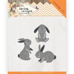 PM10175 - Mal - Precious Marieke - Spring Delight - Spring Bunnies