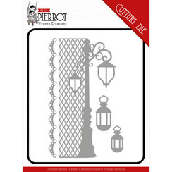 YCD10197 - Mal - Yvonne Creations - Petit Pierrot - France Lantern
