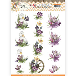 SB10422 - Uitdrukvel - Precious Marieke - Spring Delight - Purple Crocus