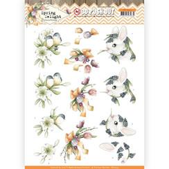 SB10423 - Uitdrukvel - Precious Marieke - Spring Delight - Young Animals