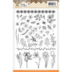 PMCS10043 - Stempel - Precious Marieke - Spring Delight