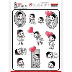 SB10432 - 3D Uitdrukvel - Yvonne Creations - Petit Pierrot - With Love