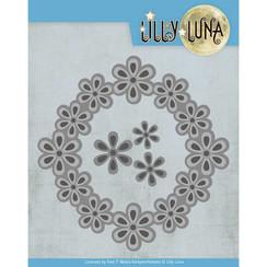 LL10006 - Snijmal - Lilly Luna - Pop Up Bloemenframe
