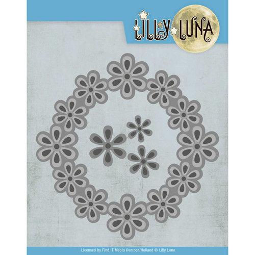 Lilly Luna LL10006 - Snijmal - Lilly Luna - Pop Up Bloemenframe