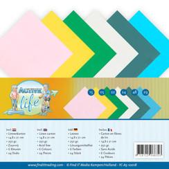 YC-A5-10018 - Linnenpakket - A5 - Yvonne Creations - Active Life