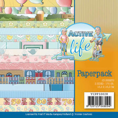 YCPP10028 - Papierpak - Yvonne Creations - Active Life