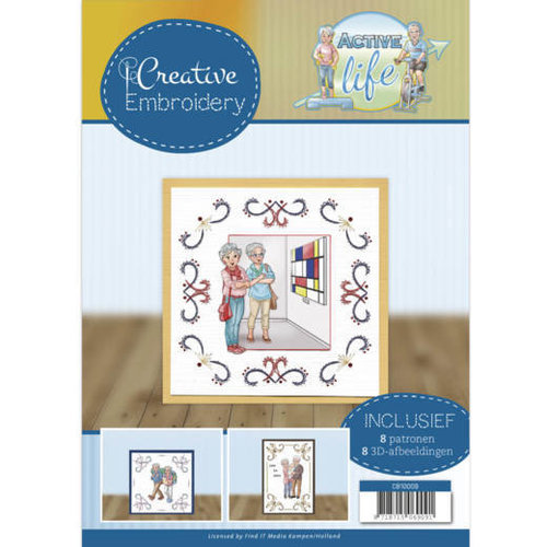 Yvonne Creations CB10009 - Creative Embroidery 9 - Yvonne Creations - Active Life