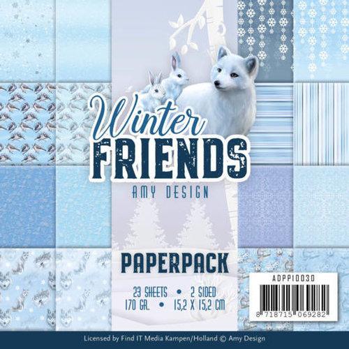 Amy Design ADPP10030 - Papierpak - Amy Design - Winter Friends