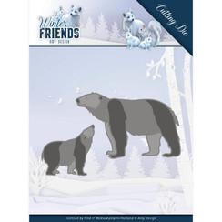 ADD10195 - Mal - Amy Design - Winter Friends - Polar Bears
