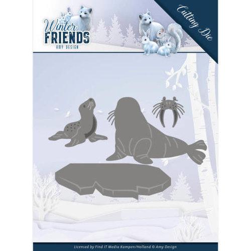 Amy Design ADD10194 - Mal - Amy Design - Winter Friends - Polar Friends