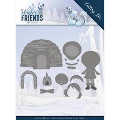 ADD10193 - Mal - Amy Design - Winter Friends - Eskimo